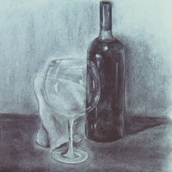 Grass of wine