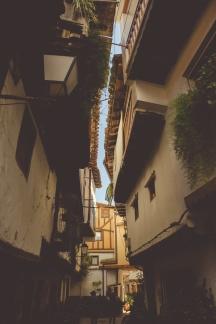 Street Villanueva de la Vera