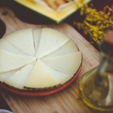 Extremadura cheese